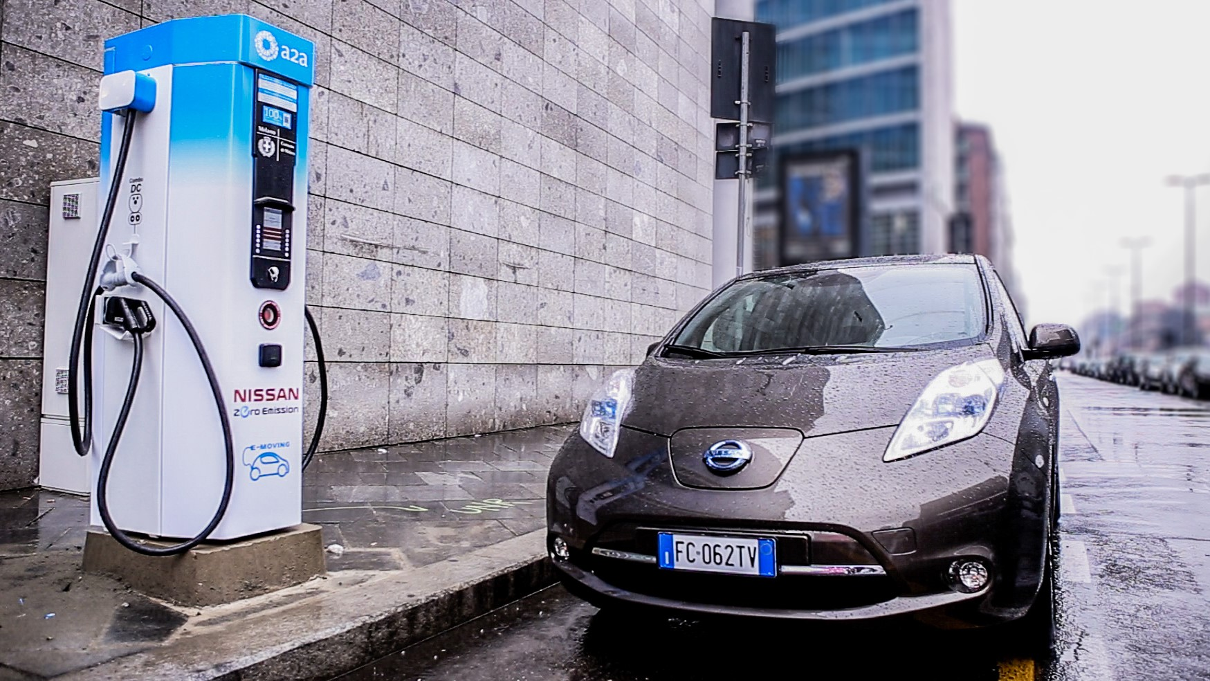 The City Of Milan Joined Forces With A2A, The Largest Italian Multi Utility  Company, And Nissan To Get Eight New Fast Charging Stations Installed In  Milan.